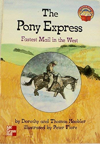 9780021477258: The Pony Express; Fastest Mail in the West (Adventure Books)