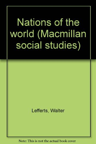 9780021480906: Nations of the world (Macmillan social studies)