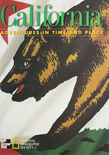 9780021488247: California: Adventures in Time and Place