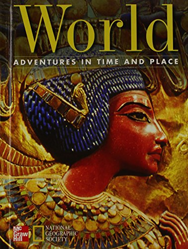 9780021488568: World, Grade 6: Adventures in Time and Place