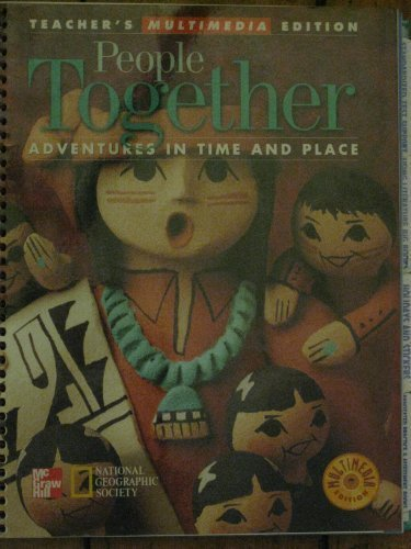 9780021488599: Adventures in Time and Place (People Together, Teacher's Multimedia Edition)