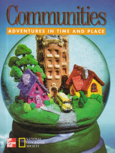 9780021491353: Adventures in Time and Place: Communities