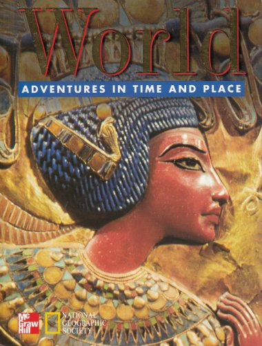 World (Adventures in Time and Place) (OLDER ELEMENTARY SOCIAL STUDIES) (9780021491384) by McGraw-Hill Education