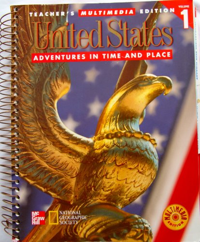 9780021491469: United States Volume 1 (Adventures in Time and Place)