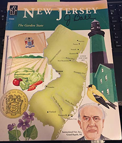 9780021491681: New Jersey, adventures in time and place: Full-color map transparencies : grade 4 map transparencies
