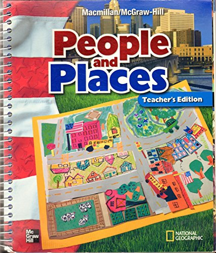 9780021492725: Teacher's Edition - People and Places Grade 1 MacMillan McGraw-Hill Social Studies