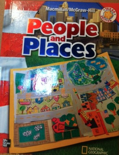 9780021493999: People and Places (Texas Edition)