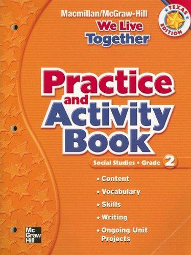 9780021494194: Social Studies: Grade 2: Practice and Activity Book