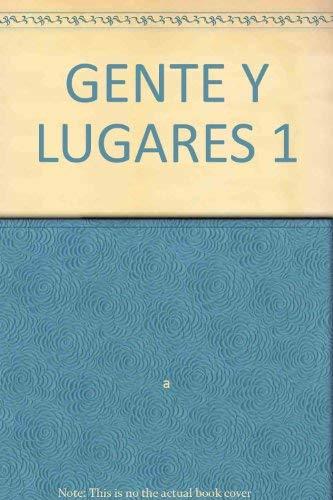 9780021494224: GENTE Y LUGARES 1