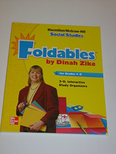 9780021495931: Foldables Handbook 3-D Graphic Organizers for Social Studies : Student and Teacher Support Resources
