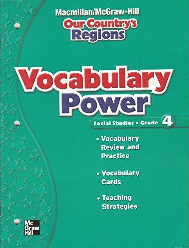 9780021495986: Vocabulary Power for
