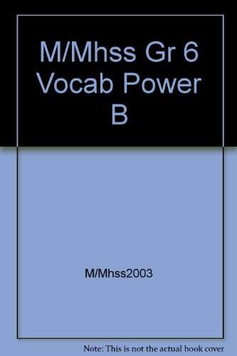 9780021496013: MacMillan/McGraw-Hill Our World Vocabulary Power Social Studies Grade 6
