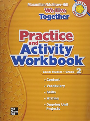 9780021499946: We Live Together - Practice and Activity Workbook (Grade 2) Texas Edition