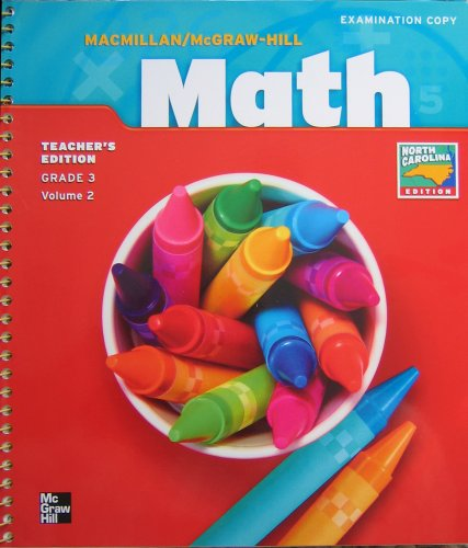 9780021501441: Mcmillan Mcgraw Hill Math : Grade 3, Volume 2