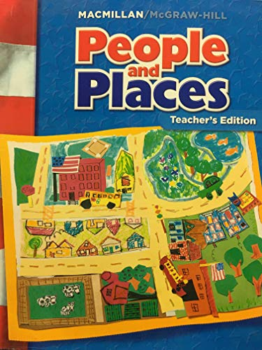 9780021503193: McGraw-Hill Social Studies: People and Places, Grade 1, Teacher's Edition