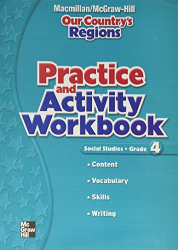 9780021503919: Our Country's Regions, Social Studies, Grade 4: Practice and Activity