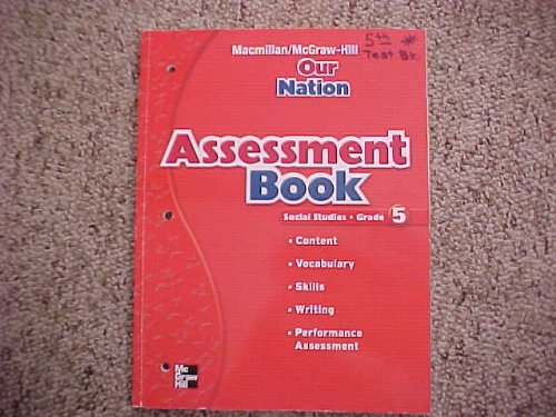 9780021503964: Assessment Book (Social Studies - Grade 5: Our Nation)