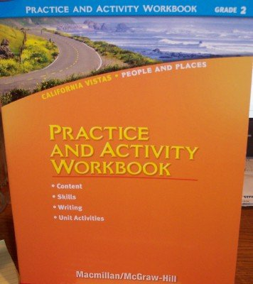 9780021504657: Grade 2 Practice and Activity Workbook (California Vistas: People and Places)