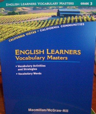 9780021505456: Grade 3 English Learners Vocabulary Masters (California Vistas: California Communities)