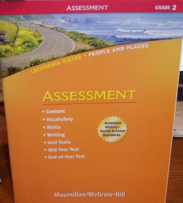 9780021505814: Grade 2 Assessment (California Vistas: People and Places)