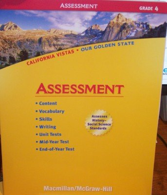 9780021505838: Grade 4 Assessment (California Vistas: Our Golden State)