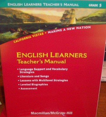 Grade 5 English Learners Teacher's Manual (California