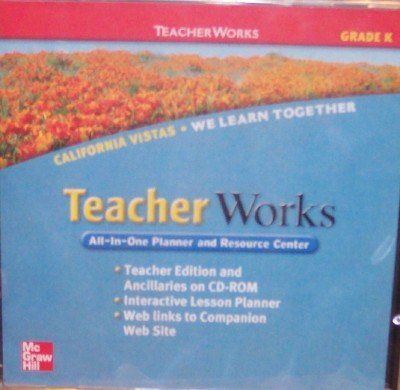 9780021509034: California Vistas Teacher Works, Grade Kindergarten (All-In-One Planner and Resource Center)
