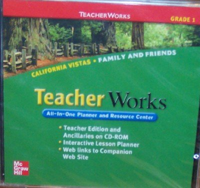 9780021509041: California Vistas Teacher Works, Grade 1 (All-In-One Planner and Resource Center)