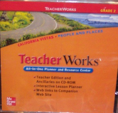 9780021509058: California Vistas Teacher Works, Grade 2 (All-In-One Planner and Resource Center)