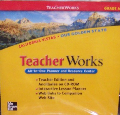 9780021509072: California Vistas Teacher Works, Grade 4 (All-In-One Planner and Resource Center)