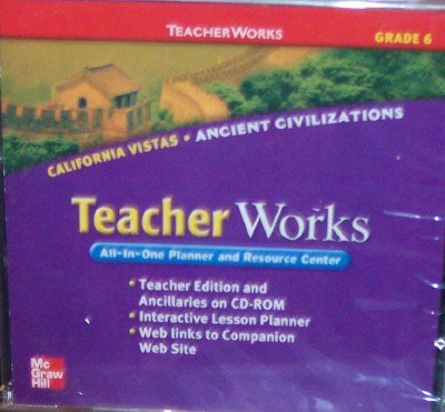 9780021509096: California Vistas Teacher Works, Grade 6 (All-In-One Planner and Resource Center)
