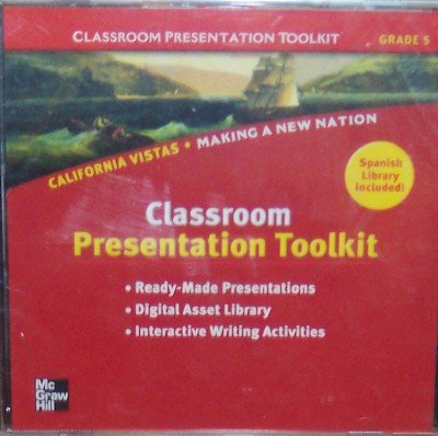 9780021509348: California Vistas: Classroom Presentation Toolkit Grade 5 (Making A New Nation)