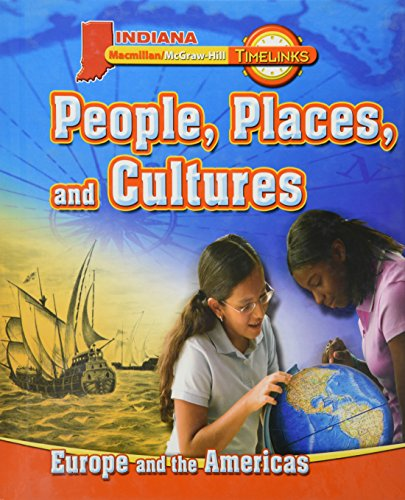9780021512577: People, Places, and Cultures, Europe and the Americas