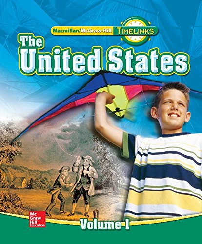 9780021513482: TimeLinks: Fifth Grade, The United States, Volume 1 Student Edition