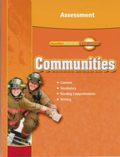 9780021517268: Third Grade, Communities, Assessment Blackline Masters