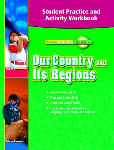 9780021517404: TimeLinks: Our Country and Its Regions, Grade 4: Student Practice and Activity Workbook