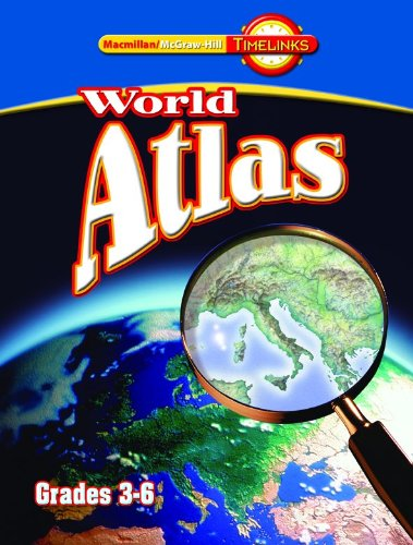 9780021517831: TimeLinks: Fourth Grade, Atlas book (3-6)