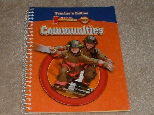 9780021521401: Communities, Indiana Timelinks Teacher's Edition-3rd Grade