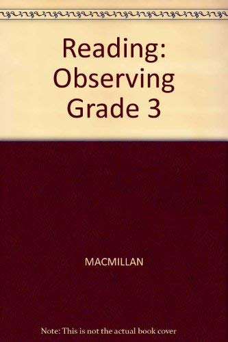 Observing (MacMillan Connections Reading Program): Arnold, Virginia A.;