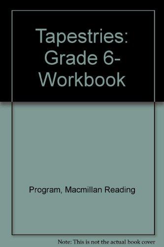 9780021642007: Tapestries: Grade 6- Workbook