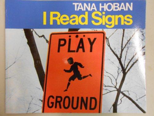 9780021790531: I Read Signs [Taschenbuch] by Tana Hoban