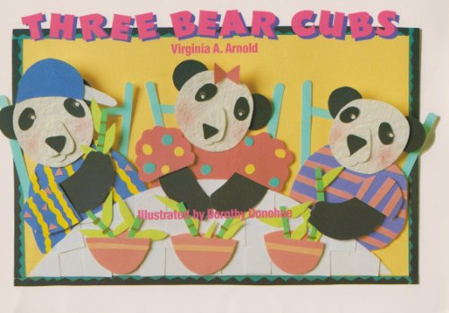 Three Bear Cubs (Phonics and Language): Arnold, Virginia A.