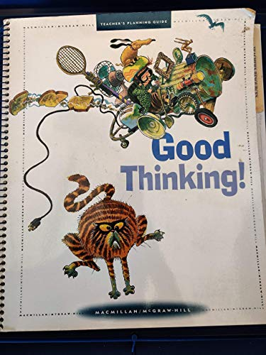 9780021811656: Good Thinking (Teacher's Planning Guide) (Grade 3 - Level 8 - Unit 1)