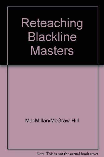 9780021811977: Reteaching Blackline Masters