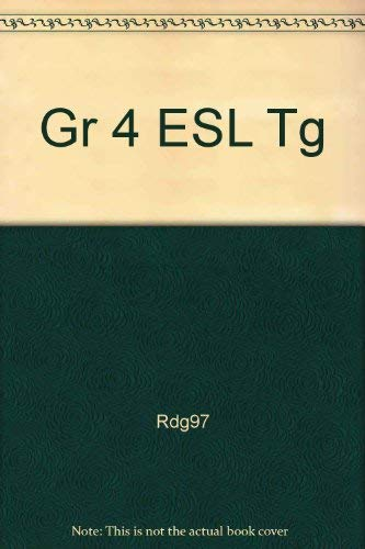 9780021812035: Esl Second-language Teacher's Guide