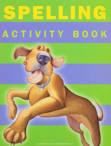 9780021812059: Spotlight on Literacy: Spelling Activity Book (Grade 1)