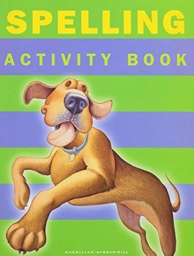9780021812103: Spelling Activity Book Teacher's Guide Grade 1 (Spotlight On Literacy, Grade 1)