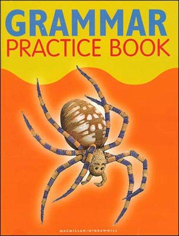 9780021812257: Spotlight on Literacy: Grammar Practice Book Grade 4