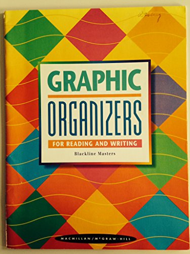 9780021812813: Graphic Organizers for Reading and Writing Blackline Masters (Grades 1-8)