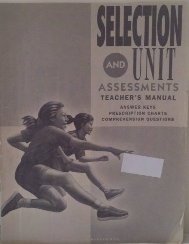 9780021813285: Spotlight on Literacy, Grade 5, Level 11, Selection & Unit Assessments Teacher?s Manual, Answer Keys, Prescription Charts, Comprehension Questions (Paperback)